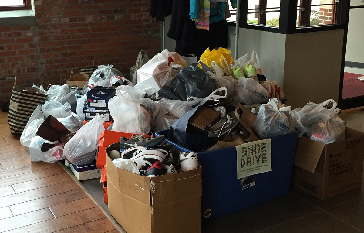 Shoe Drive Results!